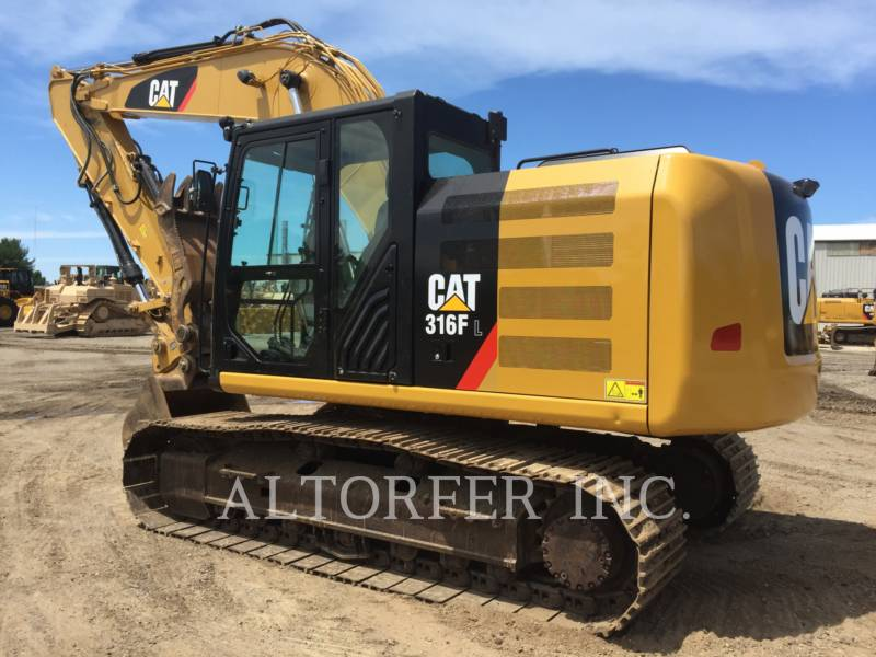 CATERPILLAR TRACK EXCAVATORS 316FL TH equipment  photo 2