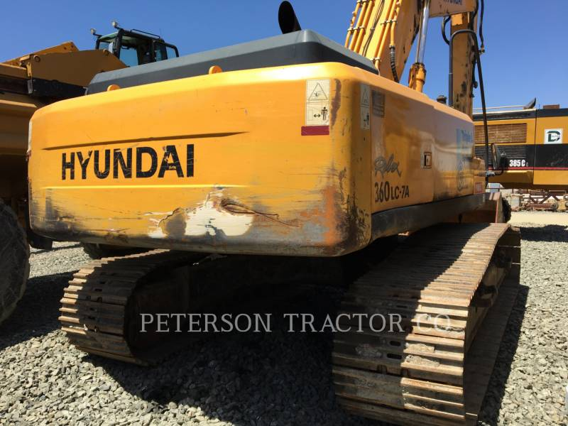 HYUNDAI ESCAVADEIRAS R360LC equipment  photo 4
