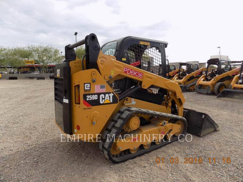 CATERPILLAR KOMPAKTLADER 259D equipment  photo 2
