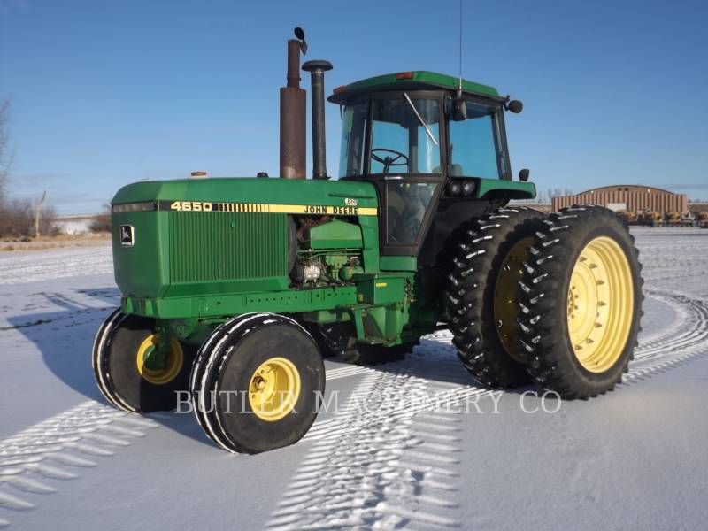 DEERE & CO. 農業用トラクタ 4650 equipment  photo 9