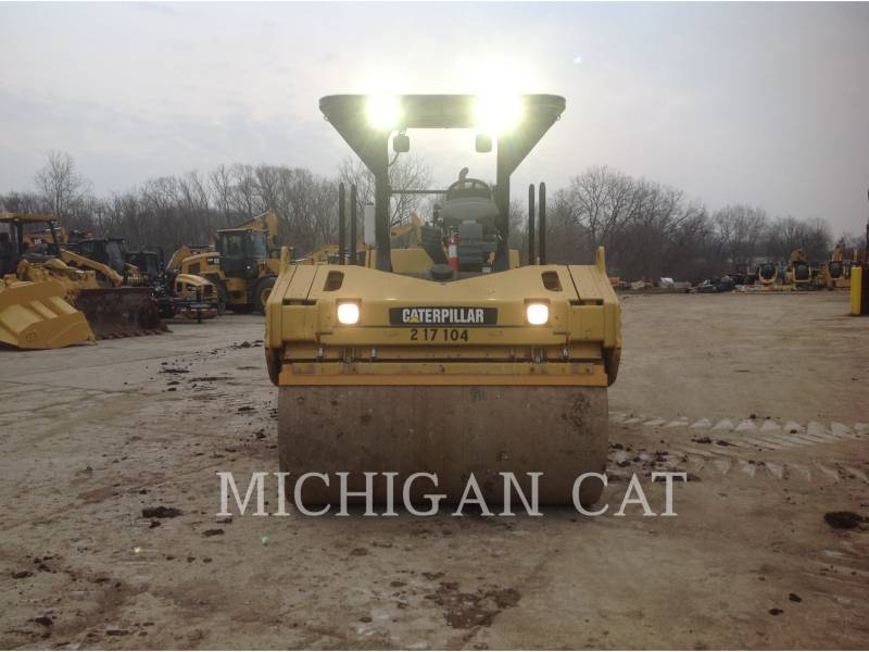 CATERPILLAR VIBRATORY DOUBLE DRUM ASPHALT CB-564D equipment  photo 5