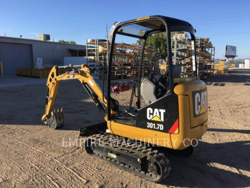 CATERPILLAR TRACK EXCAVATORS 301.7D OR equipment  photo 3