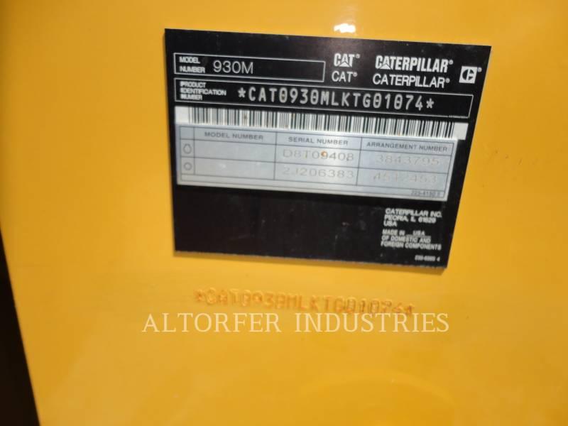 CATERPILLAR 轮式装载机/多功能装载机 930M equipment  photo 5