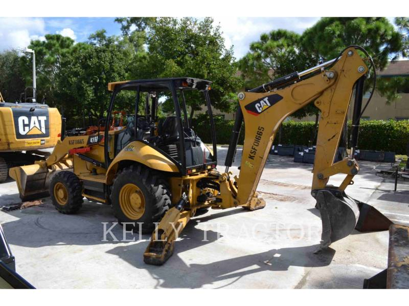 CATERPILLAR BACKHOE LOADERS 416FST equipment  photo 4