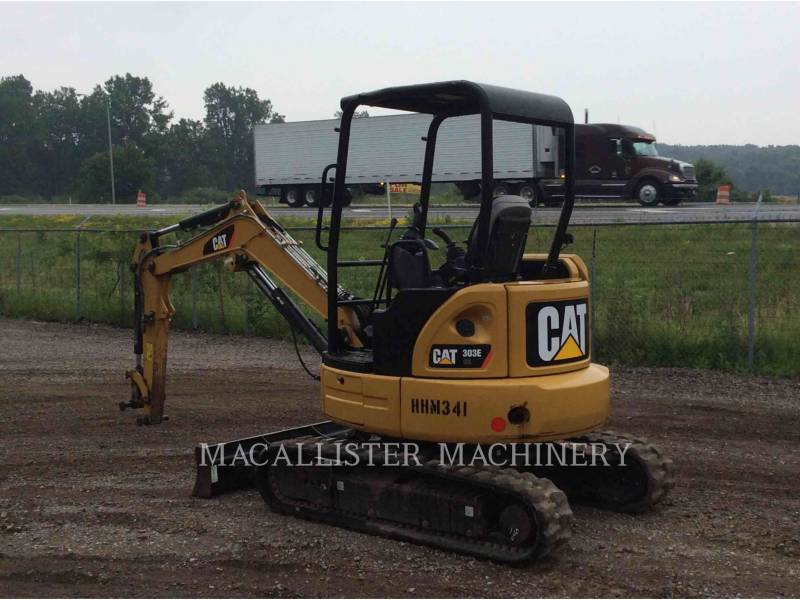 CATERPILLAR TRACK EXCAVATORS 303E equipment  photo 4