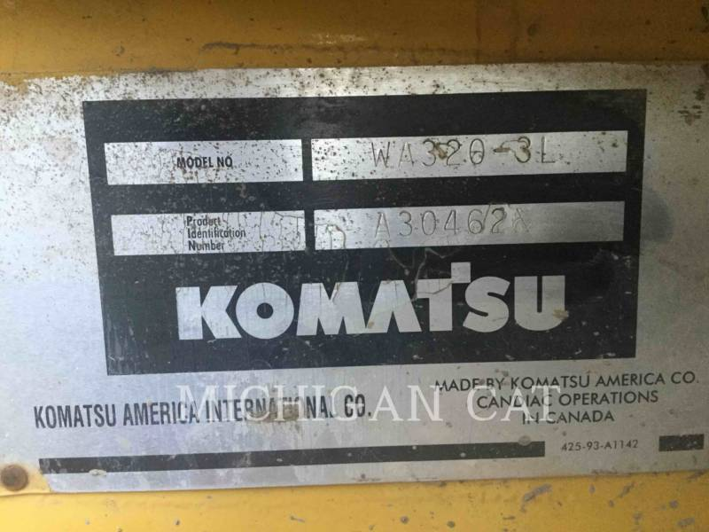KOMATSU WHEEL LOADERS/INTEGRATED TOOLCARRIERS WA320 equipment  photo 24