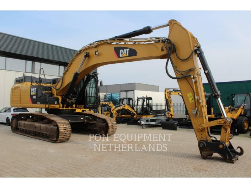 CATERPILLAR KETTEN-HYDRAULIKBAGGER 349 EL VG equipment  photo 2