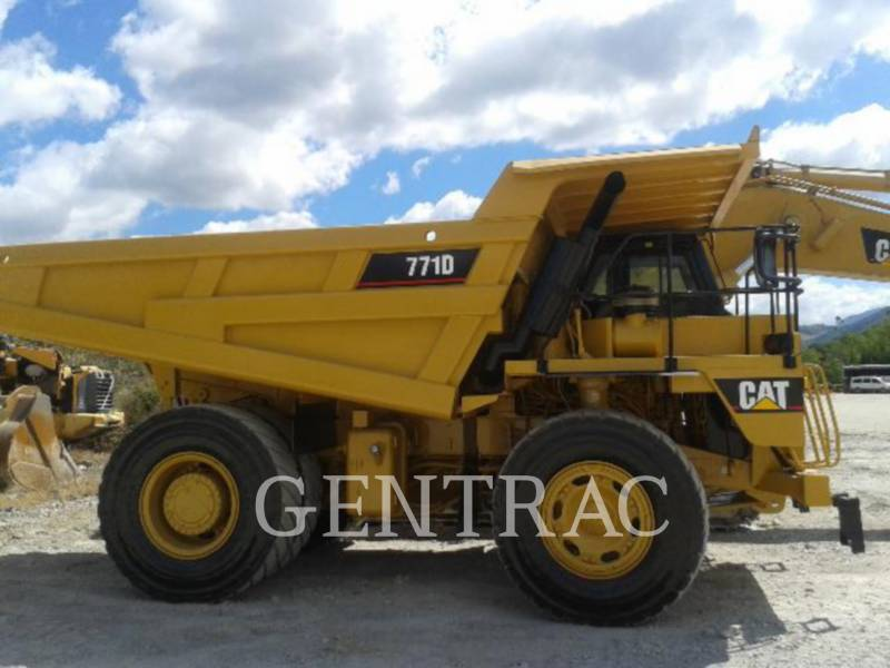 CATERPILLAR TOMBEREAUX DE CHANTIER 771D equipment  photo 3