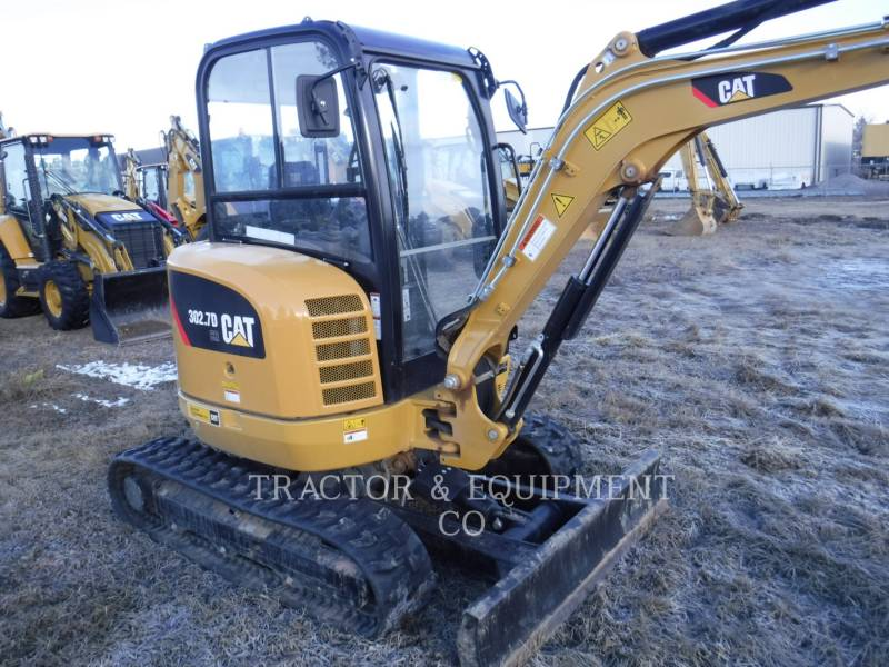 CATERPILLAR KOPARKI GĄSIENICOWE 302.7DCRCB equipment  photo 5