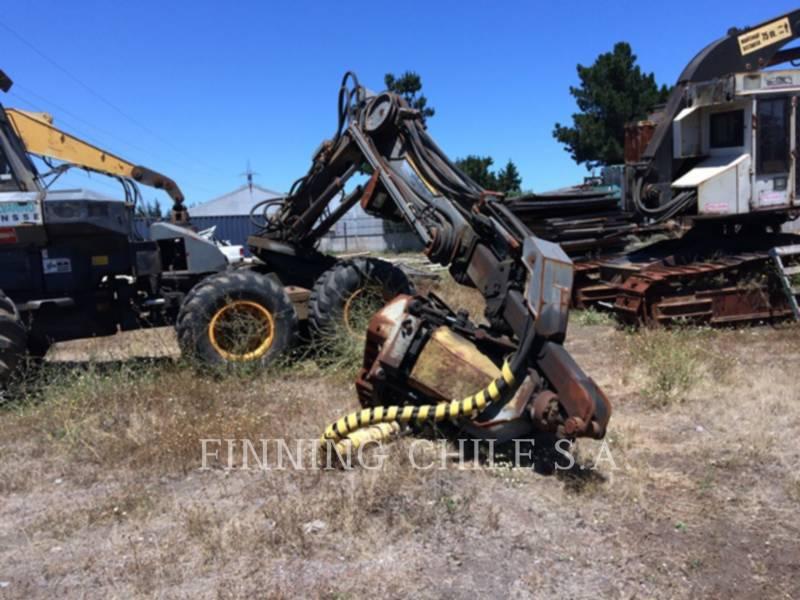PONSSE FORESTRY - FELLER BUNCHERS - WHEEL ERGO HS16 equipment  photo 13