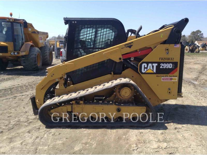 CATERPILLAR CARGADORES MULTITERRENO 299D2 equipment  photo 7