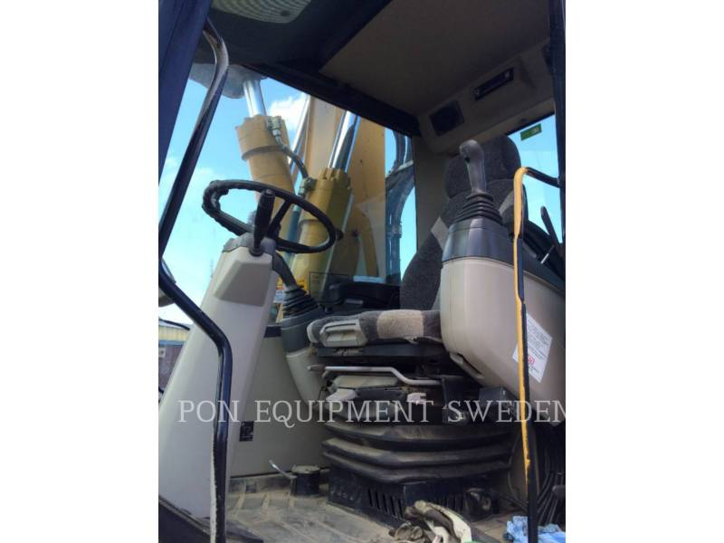 CATERPILLAR WHEEL EXCAVATORS M318C equipment  photo 6