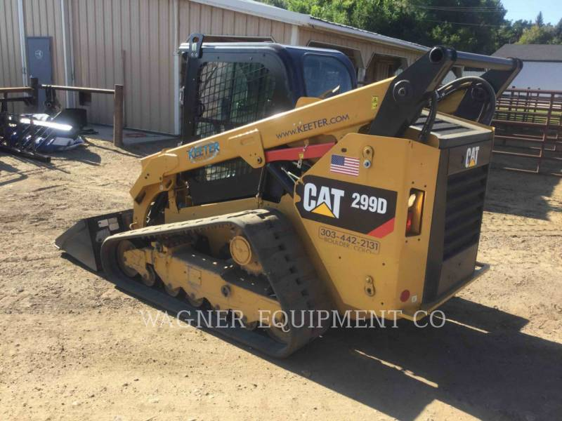 CATERPILLAR MINICARGADORAS 299D equipment  photo 4