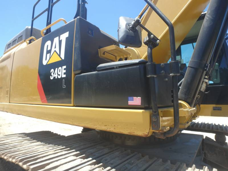 CATERPILLAR TRACK EXCAVATORS 349ELVG equipment  photo 9