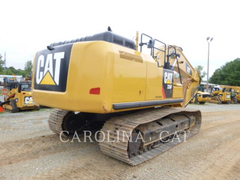CATERPILLAR TRACK EXCAVATORS 336FL QC equipment  photo 5