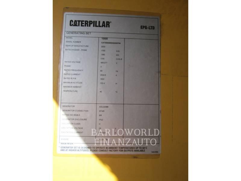 CATERPILLAR POWER MODULES (OBS) 3512B equipment  photo 2