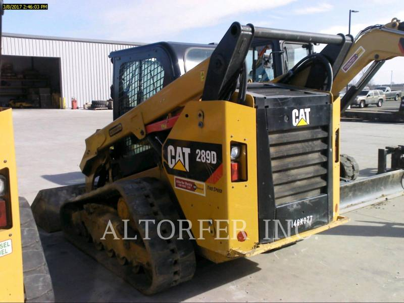 CATERPILLAR KOMPAKTLADER 289D equipment  photo 3