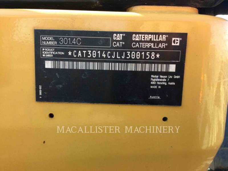 CATERPILLAR KETTEN-HYDRAULIKBAGGER 301.4C equipment  photo 17
