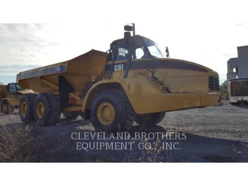 CATERPILLAR DUMPER ARTICOLATI 735 equipment  photo 2