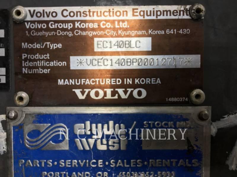 VOLVO CONSTRUCTION EQUIPMENT ESCAVATORI CINGOLATI EC140BLC equipment  photo 2