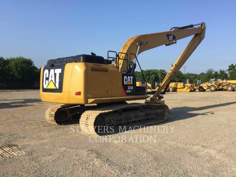 CATERPILLAR EXCAVADORAS DE CADENAS 324EL LR equipment  photo 3
