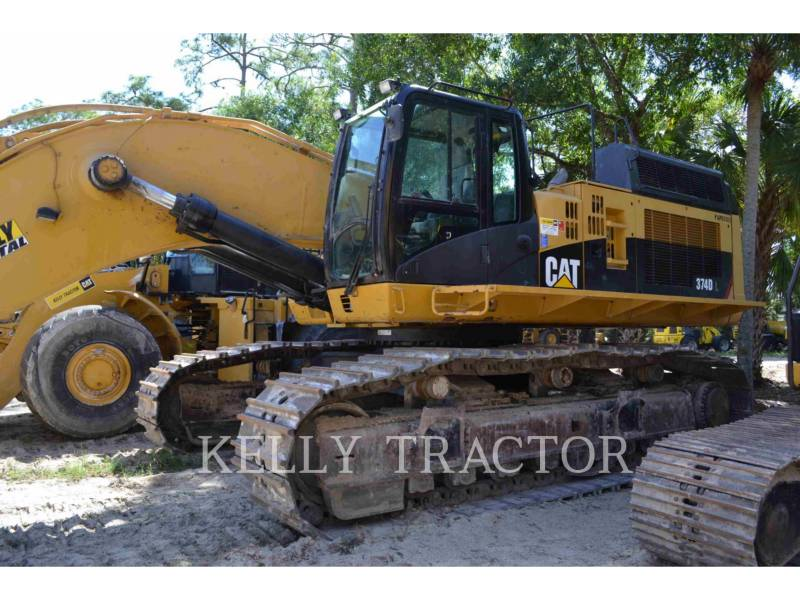 CATERPILLAR KETTEN-HYDRAULIKBAGGER 374DL equipment  photo 5
