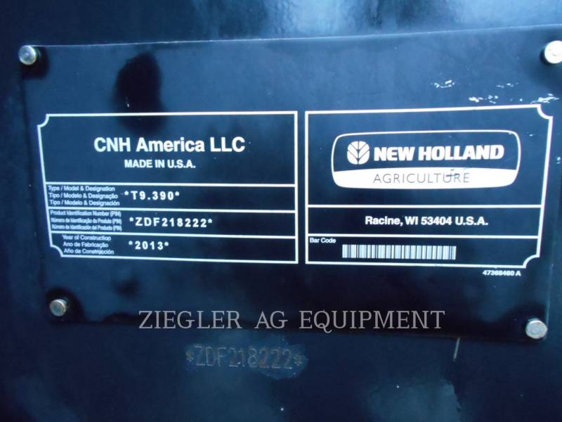 NEW HOLLAND LTD. TRATTORI AGRICOLI T9.390 equipment  photo 7