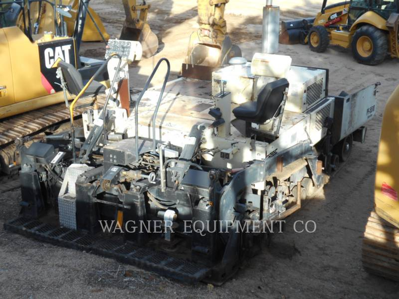 BLAW KNOX / INGERSOLL-RAND ASPHALT PAVERS PF5510 equipment  photo 3
