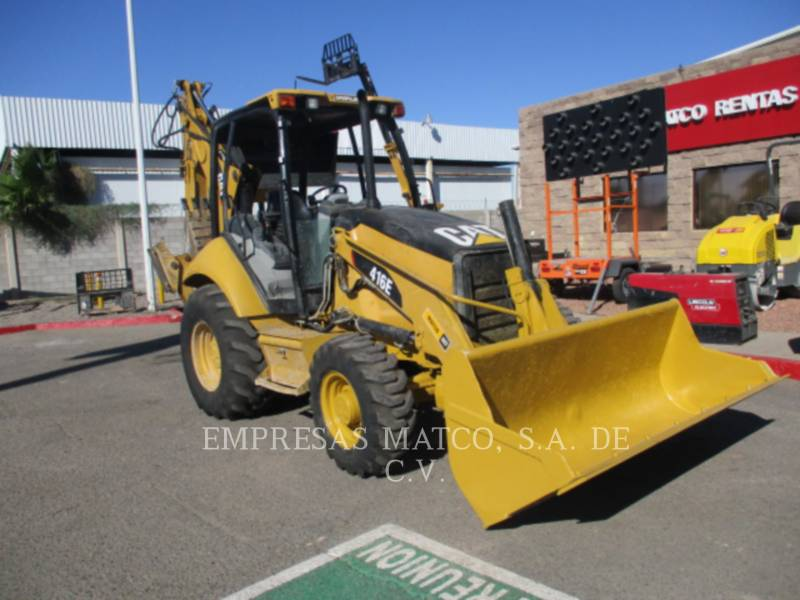 CATERPILLAR BAGGERLADER 416EST equipment  photo 1