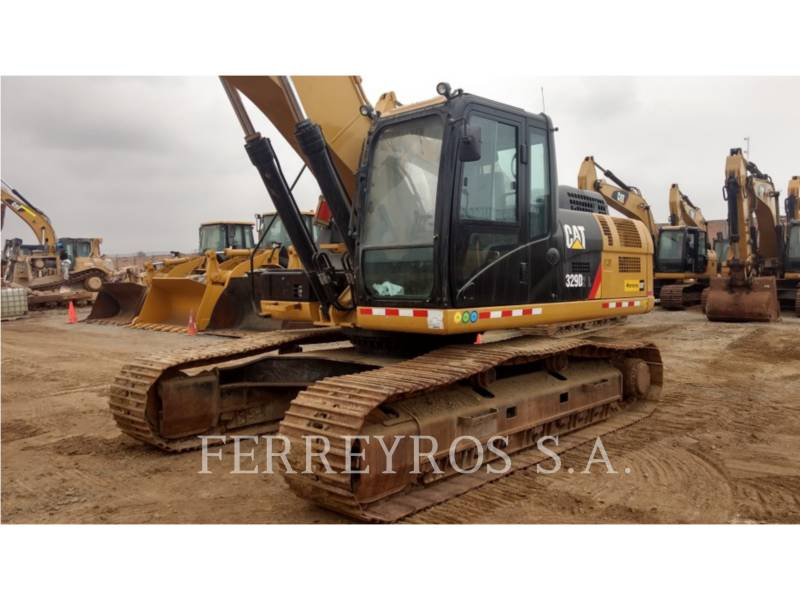 CATERPILLAR EXCAVADORAS DE CADENAS 329D2L equipment  photo 3
