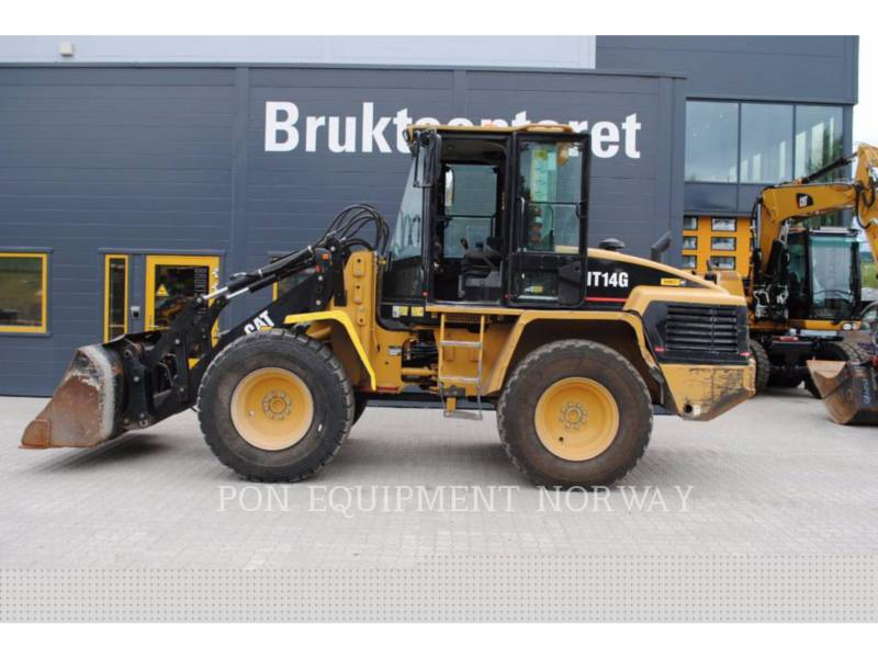 CATERPILLAR CHARGEURS SUR PNEUS/CHARGEURS INDUSTRIELS IT14G equipment  photo 1