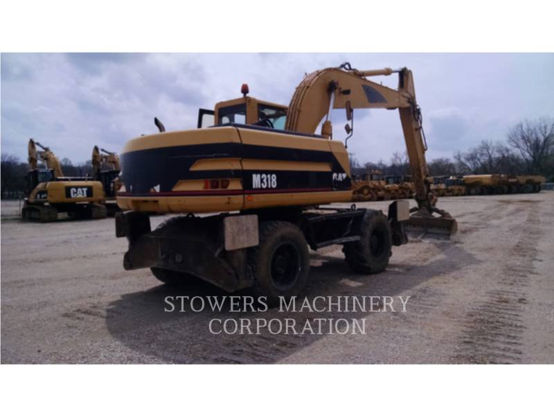 CATERPILLAR EXCAVADORAS DE CADENAS M318 equipment  photo 3
