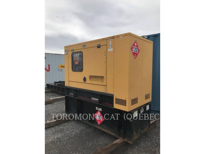 CATERPILLAR STATIONARY GENERATOR SETS D60P3 equipment  photo 1