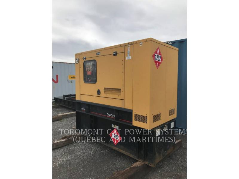 CATERPILLAR STATIONARY GENERATOR SETS D60P3_120_208 V equipment  photo 1