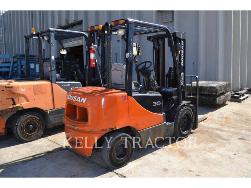 DOOSAN INFRACORE AMERICA CORP. FORKLIFTS D30S-5 equipment  photo 3