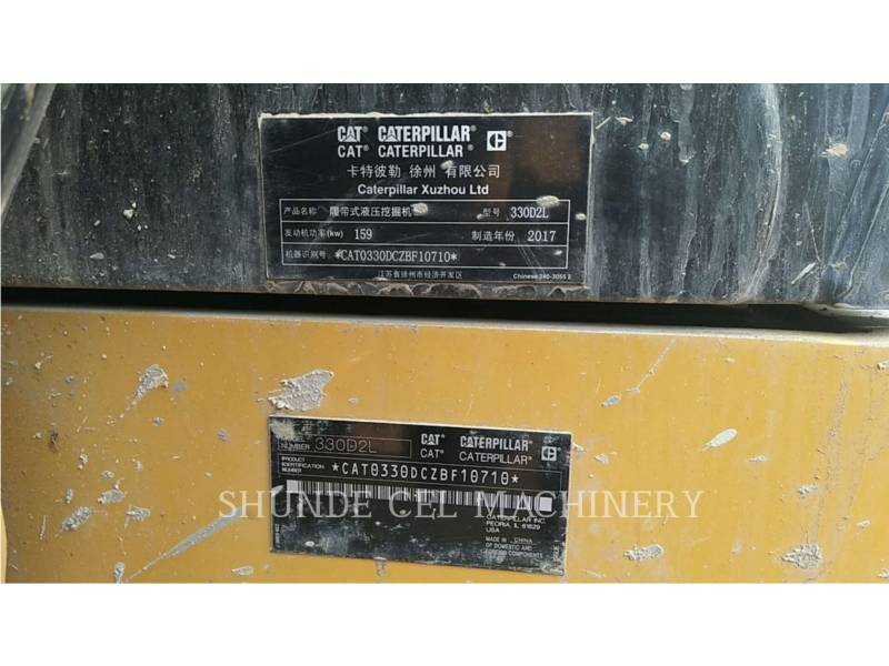 CATERPILLAR EXCAVADORAS DE CADENAS 330D2L equipment  photo 2