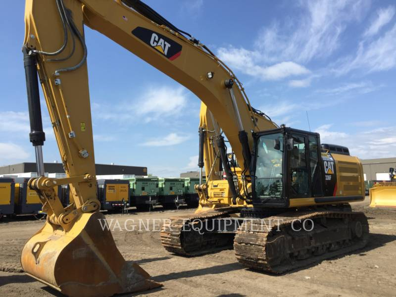 CATERPILLAR KETTEN-HYDRAULIKBAGGER 336FL TC equipment  photo 1