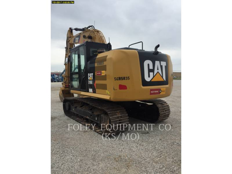 CATERPILLAR TRACK EXCAVATORS 316EL9 equipment  photo 4