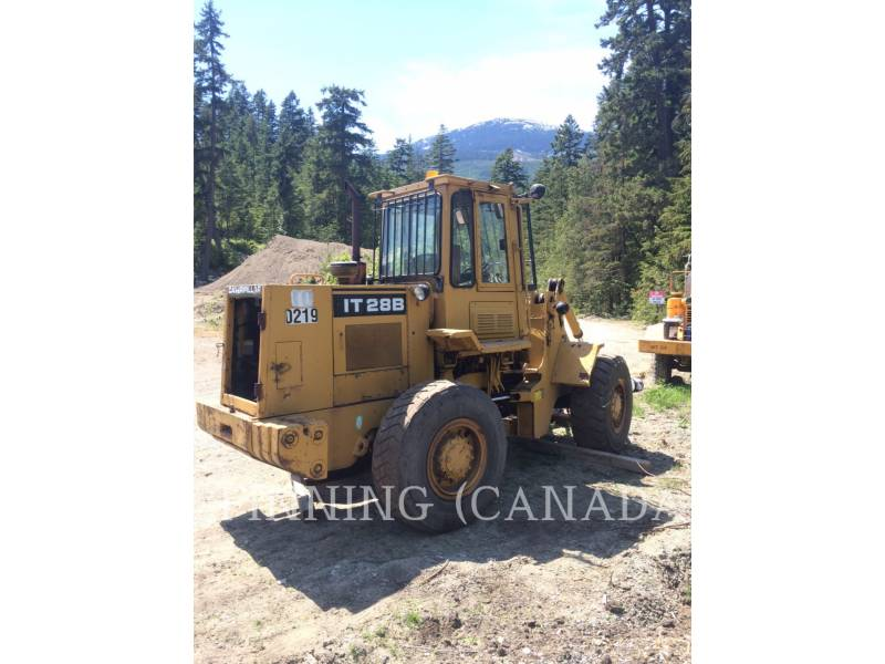 CATERPILLAR WHEEL LOADERS/INTEGRATED TOOLCARRIERS IT28B equipment  photo 4