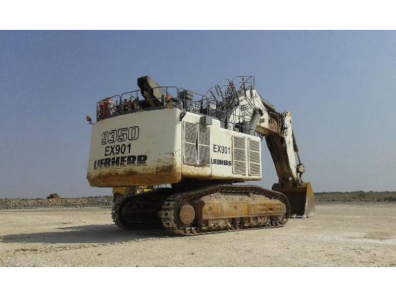 LIEBHERR EXCAVADORAS DE CADENAS R 9350 LITRONIC equipment  photo 3