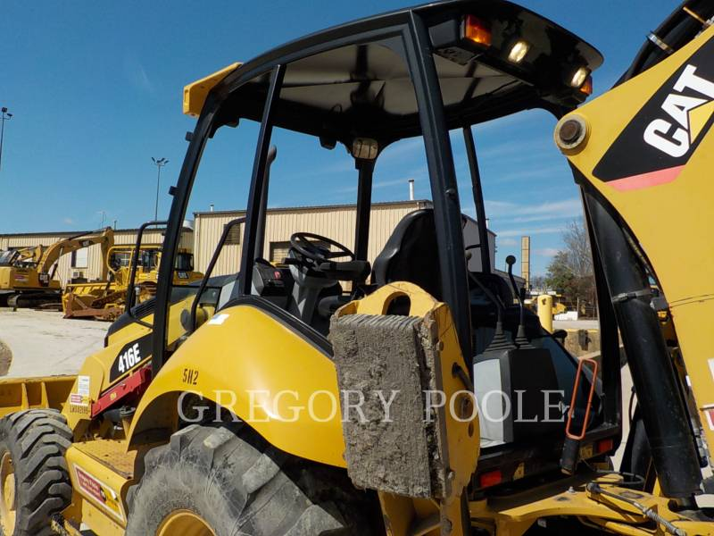CATERPILLAR バックホーローダ 416E equipment  photo 8