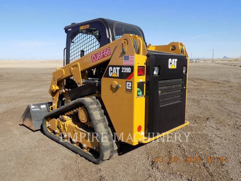 CATERPILLAR CARGADORES MULTITERRENO 239D equipment  photo 3
