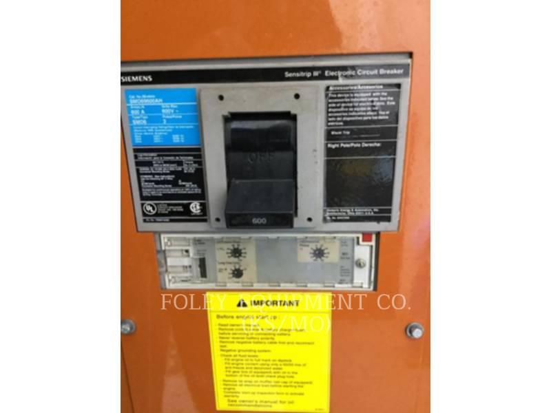 GENERAC STATIONARY - DIESEL (OBS) 0A8829EP equipment  photo 13
