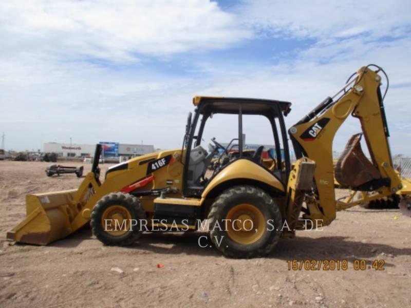CATERPILLAR BAGGERLADER 416FST equipment  photo 2