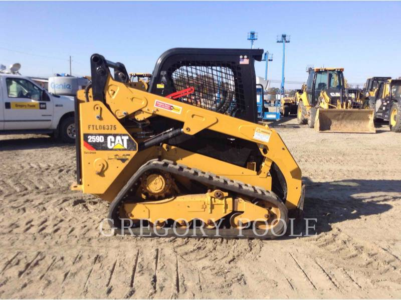 CATERPILLAR CARREGADEIRAS TODO TERRENO 259D equipment  photo 7