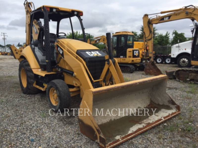 CATERPILLAR BAGGERLADER 416F CYGP equipment  photo 1