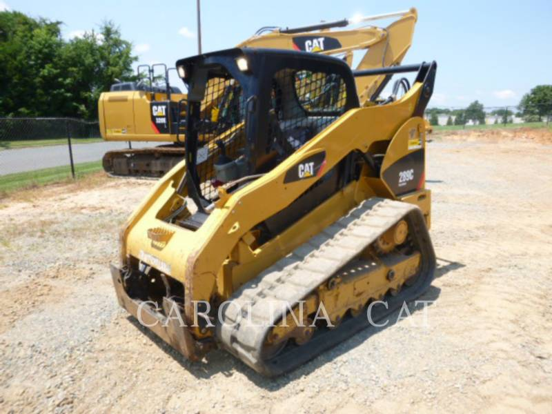 CATERPILLAR CARGADORES DE CADENAS 289C equipment  photo 3