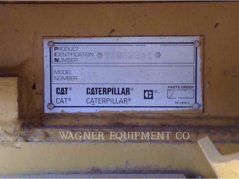 CATERPILLAR TRATORES DE ESTEIRAS D6R XL DS equipment  photo 5