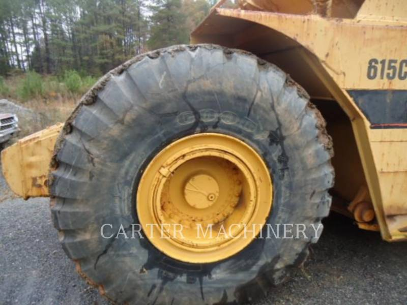 CATERPILLAR WHEEL TRACTOR SCRAPERS 615C equipment  photo 16