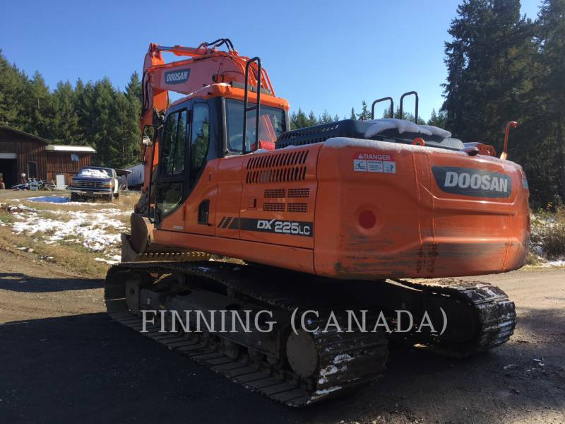 DOOSAN INFRACORE AMERICA CORP. KOPARKI GĄSIENICOWE DX225LC-3 equipment  photo 3